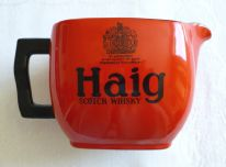 zz Haig Scotch Whisky - retro vintage advertising pottery pub water jug (SOLD)